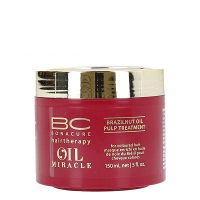 Schwarzkopf BC Oil Miracle Brazilnut, maska do włosów farbowanych, 150 ml