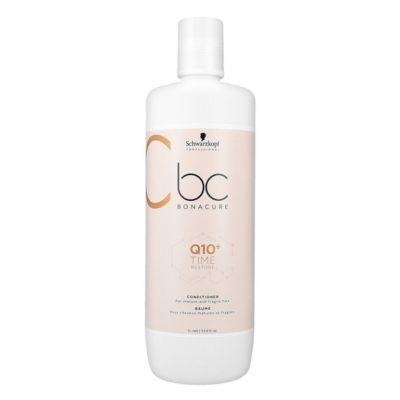 Schwarzkopf BC Time Restore Q10, odżywka odbudowująca włosy zniszczone, 1000 ml