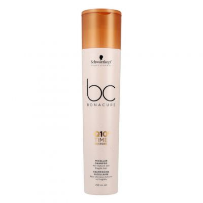 Schwarzkopf BC Time Restore Q10, szampon odbudowujący włosy zniszczone, 250 ml