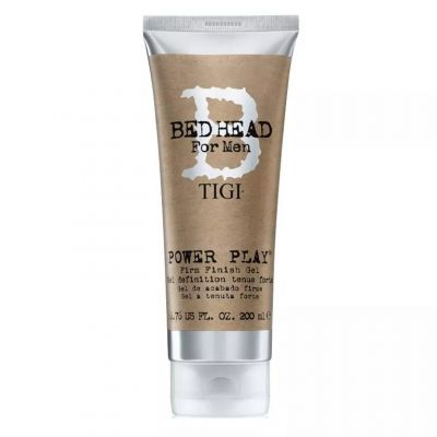 Tigi Bed Head B for Men Power Play Gel, żel do stylizacji mocno utrwalający, 200 ml