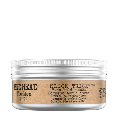 Tigi Bed Head B for Men Slick Trick Firm Hold Pomade, pomada do włosów z silnym utrwaleniem, 75 g