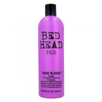 Tigi Bed Head Colour Combat Dumb Blonde Shampoo, szampon nawilżający do włosów blond, 750 ml