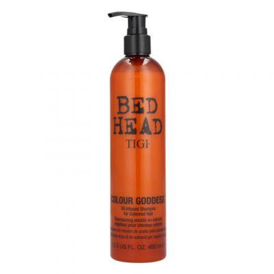 Tigi Bed Head Colour Goddess Shampoo, szampon do włosów farbowanych, 400 ml