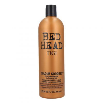 Tigi Bed Head Colour Goddess Shampoo, szampon do włosów farbowanych, 750 ml