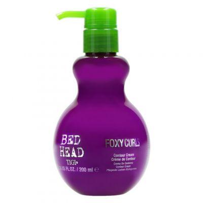 Tigi Bed Head Foxy Curls Contour Cream, krem pielęgnujący i utrwalający loki, 200 ml