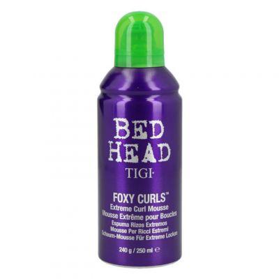 Tigi Bed Head Foxy Curls Extreme Curl Mousse, pianka do włosów kręconych, 250 ml