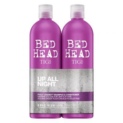 Tigi Bed Head Fully Loaded Twins Set, zestaw zwiększający objętość, szampon + odżywka, 2 x 750 ml
