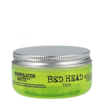 Tigi Bed Head Manipulator Matte, wosk matujący bardzo mocno utrwalający, 57,5 g