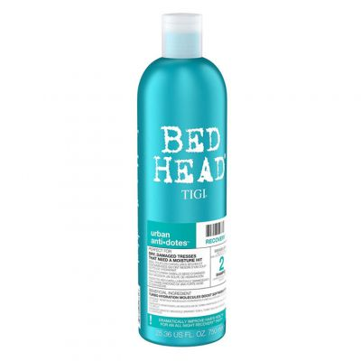 Tigi Bed Head Urban Anti+Dotes Recovery Shampoo, nawilżający szampon do włosów zniszczonych, 750 ml