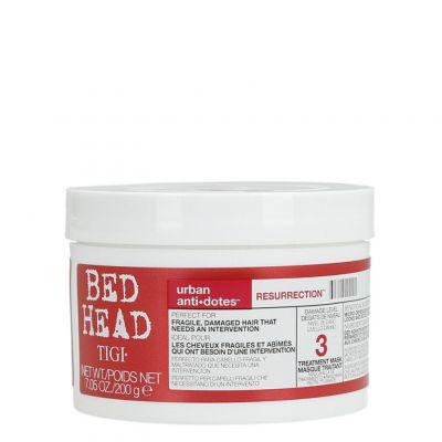 Tigi Bed Head Urban Antidotes Resurrection Mask, regenerująca maska do włosów słabych i łamliwych, 200 ml