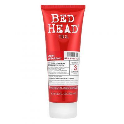 Tigi Bed Head Urban Anti+Dotes Resurrection Conditioner, regenerująca odżywka do włosów słabych i łamliwych, 200 ml