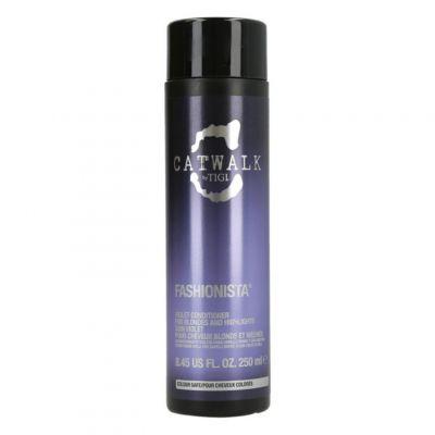 Tigi Catwalk Fashionista Violet Conditioner, fioletowa odżywka do włosów blond, 250 ml