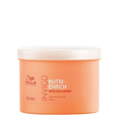 Wella Invigo Nutri-Enrich, maska silnie rewitalizująca do włosów suchych, 500 ml