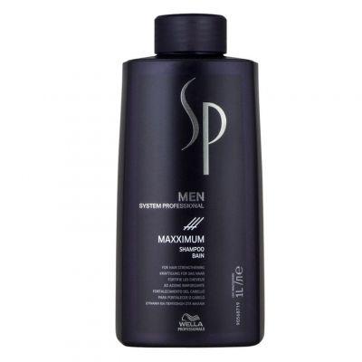 Wella SP Men Maxximum, szampon dla mężczyzn wzmacniający włosy, 1000 ml