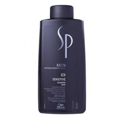 Wella SP Men Sensitive, delikatny szampon do wrażliwej skóry głowy dla mężczyzn, 1000 ml