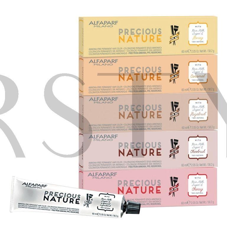 Alfaparf Precious Nature Hair Color, profesjonalna farba do włosów bez amoniaku, 60 ml
